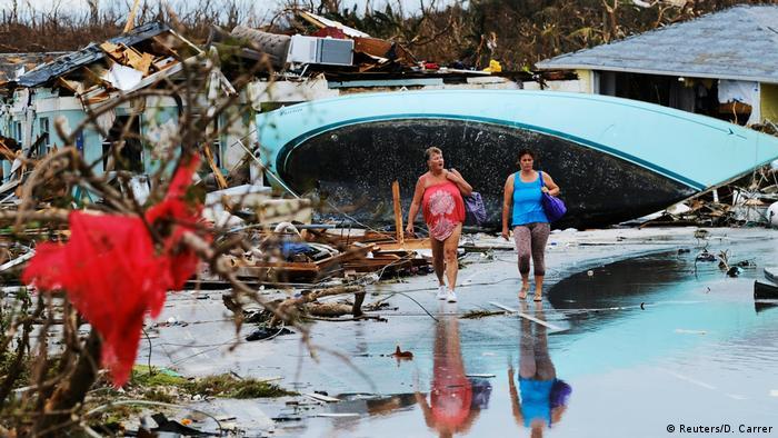 BdTD Bahamas Dorian Hurricane (Reuters/D. Carrer)