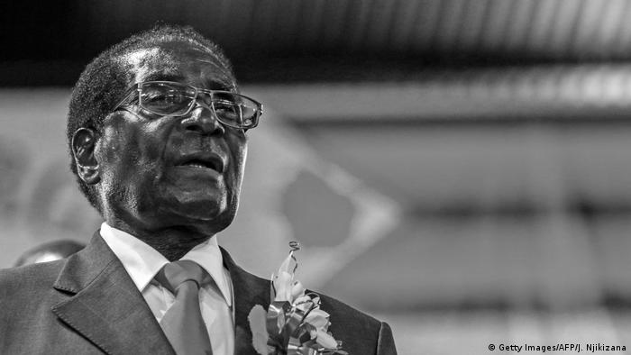 Ex-presidente do Zimbábue Robert Mugabe
