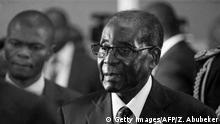 Robert Mugabe Simbabwe Afrika ehem. Präsident