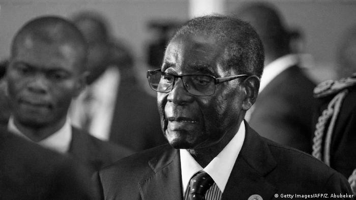 Robert Mugabe Simbabwe Afrika ehem. Präsident (Getty Images/AFP/Z. Abubeker)