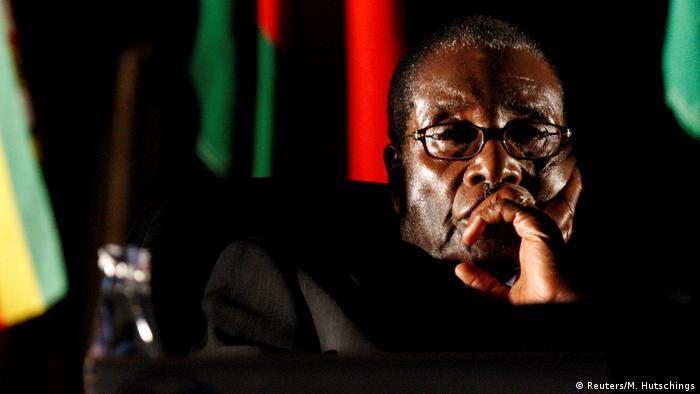 Robert Mugabe, ex-Presidente do Zimbabué