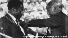 Bildergalerie Robert Mugabe Simbabwe Afrika