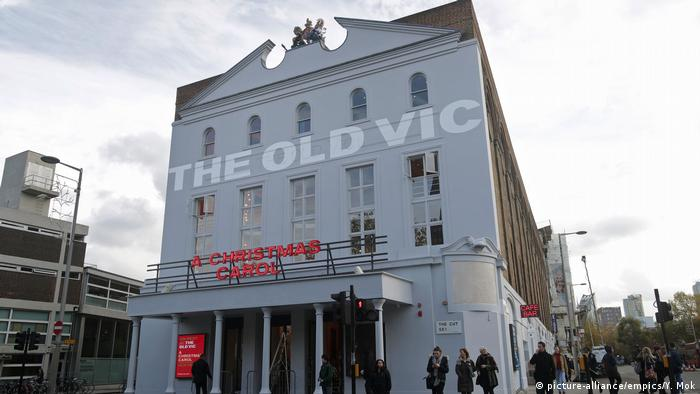 Здание театра The Old Vic в Лондоне