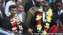 Iran Simbabwe Robert Mugabe zu Besuch bei Mahmoud Ahmadineschad