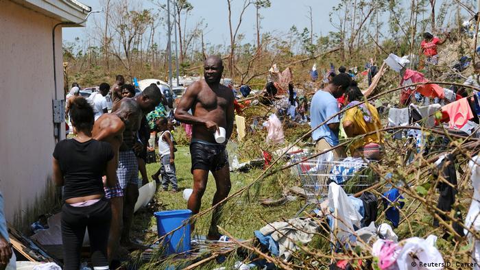 Bahamas Hurricane Dorian (Reuters/D. Carrer)