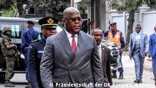 DR Kongo Felix Tshisekedi beim Kinshasa Digital Forum