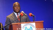 Felix Tshisekedi, Präsidenten des Kongo, auf dem Kinshasa Digital Forum am 5. September 2019. Copyright: Giscard Kusema vom Pressedienst der Präsidentschaft.