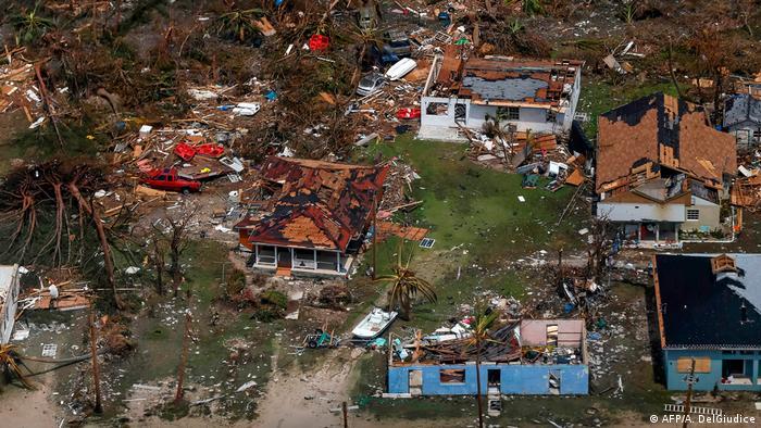 Hurricane Dorian Bahamas Bildergalerie (AFP/A. DelGiudice )