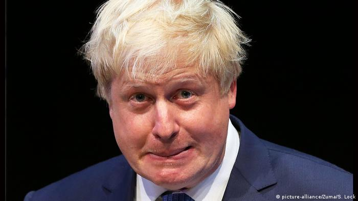 Please leave my town': Polite anti-Boris Johnson greeting goes viral |  Digital Culture | DW | 06.09.2019