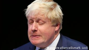 Boris Johnson Mimik