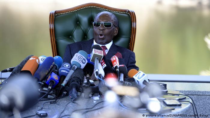 Marehemu Robert Mugabe enzi za uhai wake
