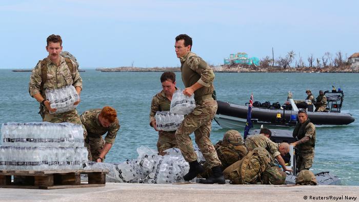 Hurricane Dorian Bahamas Bildergalerie (Reuters/Royal Navy)