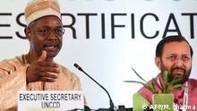 Indien Konferenz der UNO zu Wüstenbildung