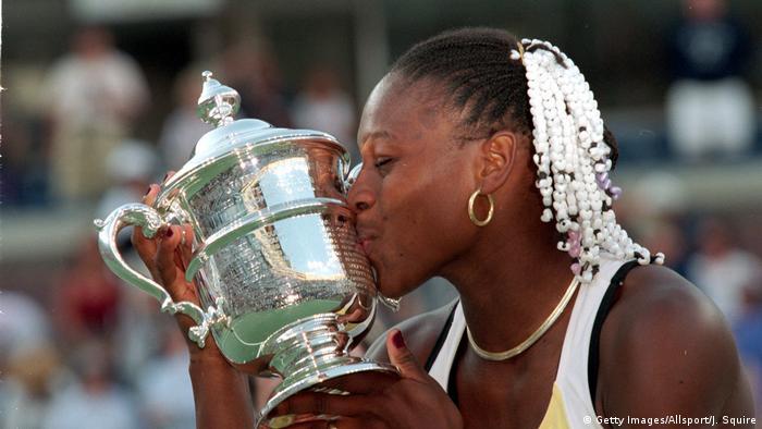 BG Tennis-Spielerin Serena Williams (Getty Images/Allsport/J. Squire)
