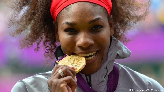 BG Tennis-Spielerin Serena Williams (Getty Images/AFP/L. Acosta)