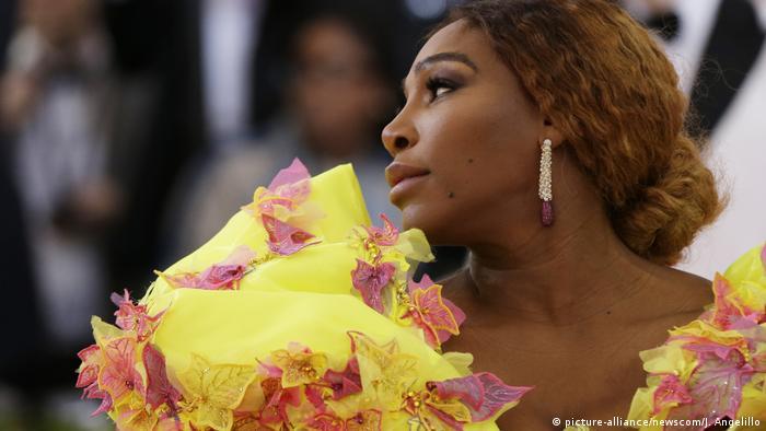 BG Tennis-Spielerin Serena Williams (picture-alliance/newscom/J. Angelillo)