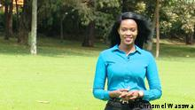 Eco Africa presenter Sandrah Twinoburyo