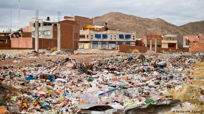Titicaca See Verschmutzung (Reuters/M. Seoane)