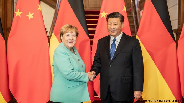 Merkel i Si: Prošlogodišnji sastanak u Pekingu