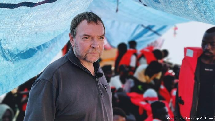 Rettungsschiff «Eleonore» Kapitän Claus-Peter Reisch