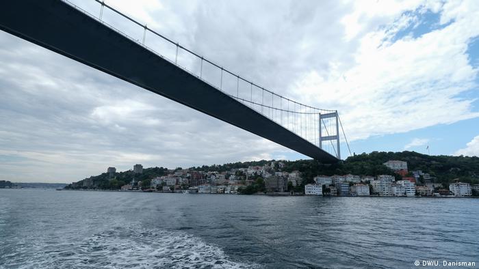 Türkei Fotoreportage die Brücken von Istanbul