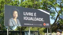 Joacine Katar Moreira, Kandidatin Parlamentswahlen in Portugal 2019 Wann wurde das Bild gemacht?: 06.09.2019 Wo wurde das Bild aufgenommen?: Lisbon, Portugal Wer hat das Bild gemacht/Fotograf?: Carlos, João