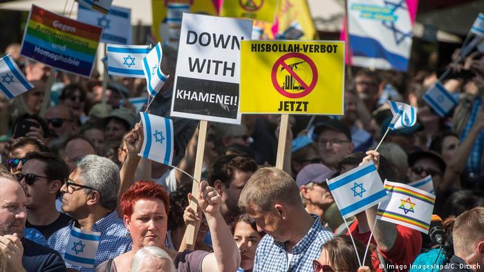 تظاهرات علیه برگزاری روز قدس در برلین، اول ژوئن ۲۰۱۹