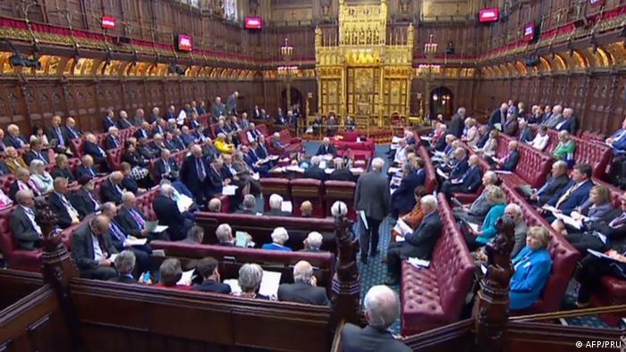 В Палате лордов британского парламента