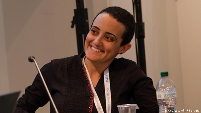 Lina Attalah, co-founder and editor, Mada Masr, Egypt