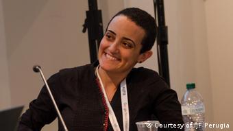 Лина Аттала, главный редактор портала Mada Masr (сентябрь 2019 г.)