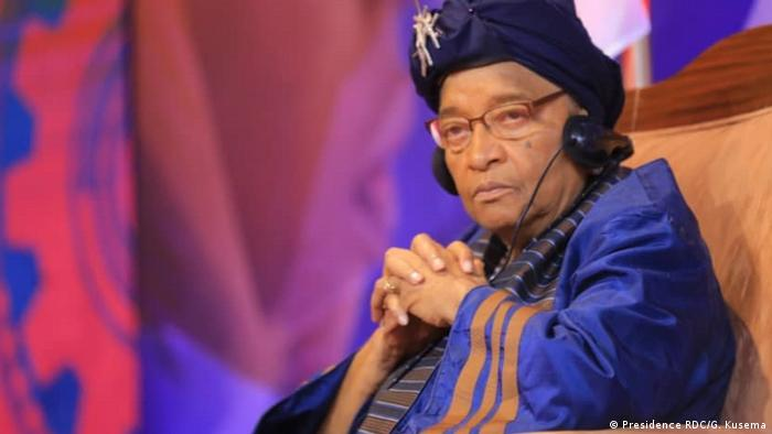 Democratic Republic of the Congo Kinshasa |  Former Liberian President Ellen Johnson Sirleaf