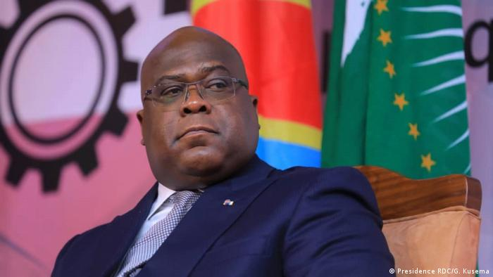 Demokratische Republik Kongo l Félix Tshisekedi (Presidence RDC/G. Kusema)