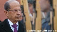 Russland Moskau | Libanesischer Präsident Michel Aoun
