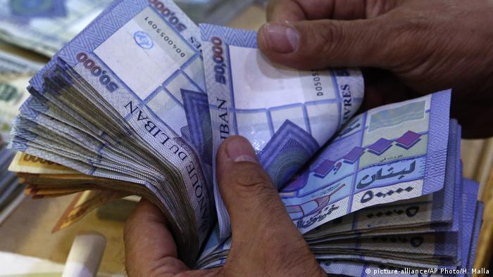 نقود ورقي، الليرة اللبنانية