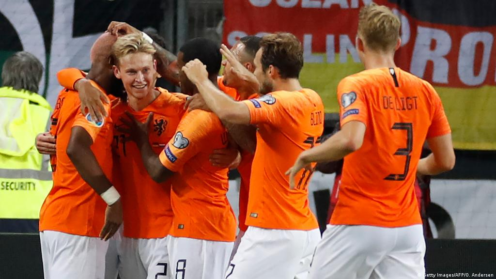 Euro 2020 Qualifying Netherlands Topple Germany In Six Goal