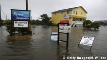 Floods in Pea Island, North Carolina (Getty Images/M. Wilson)