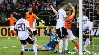 Germany were simply chaotic against the Dutch in Hamburg