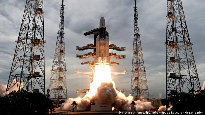Indien: Chandrayaan-2 (picture-alliance/dpa/Indian Space Research Organization)