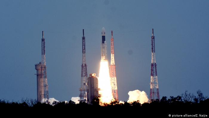 Indien: Chandrayaan-2 (picture-alliance/Z. Naijie)