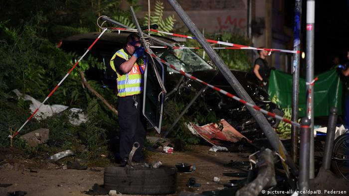 Accident leaves four dead in Berlin