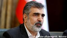 Iran Sprecher der Atomorganisation Behrus Kamalwandi