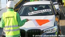 Deutschland | Greenpeace-Protestaktion gegen SUVs