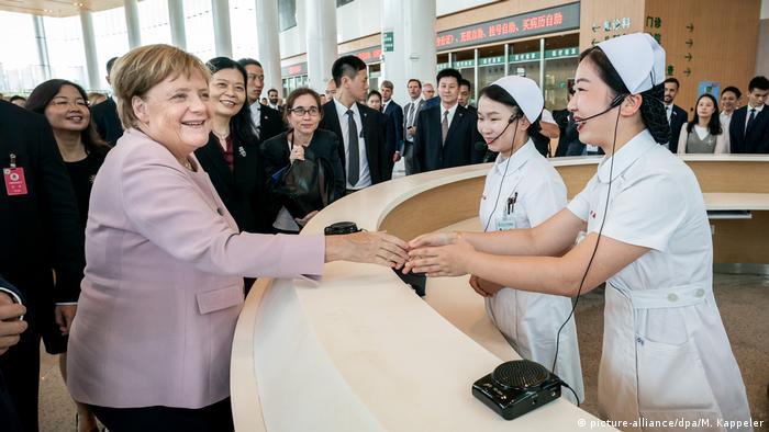 Bundeskanzlerin Merkel in China