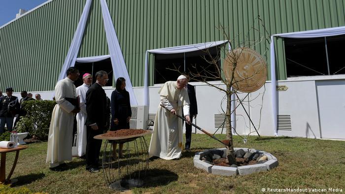 Papst Franziskus besucht Madagaskar (Reuters/Handout Vatican Media)