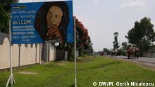 Äthiopien - Rastas Shashamane - Bob Marley Plakat