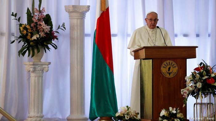 Afrika - Papst Franziskus besucht Madagaskar (Reuters/Y. Nardi)