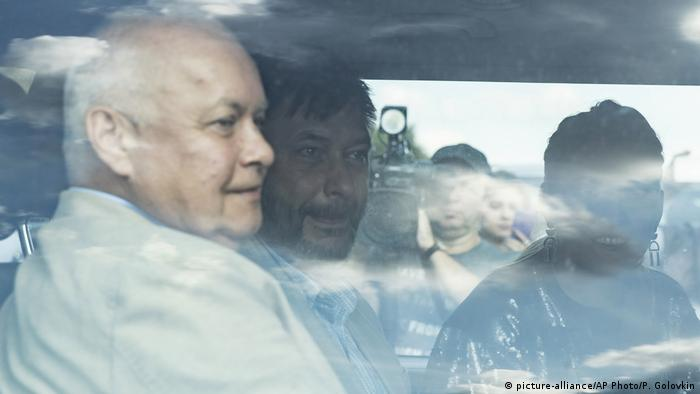 Dvojica novinara su među zatočenicima koji su iz Rusije vraćeni u Ukrajinu