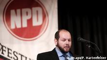 Deutschland Hessen l NPD Stefan Jagsch zum Ortsvorsteher gewählt