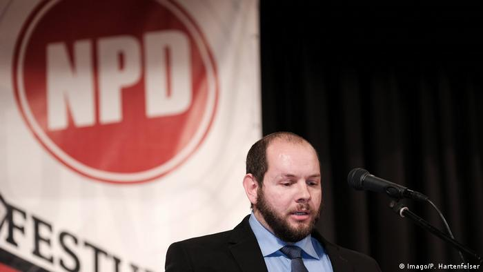 NPD party member and local politician Stefan Jagsch