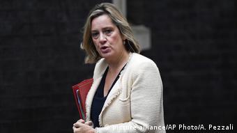 Großbritannien London Arbeitsministerin Amber Rudd